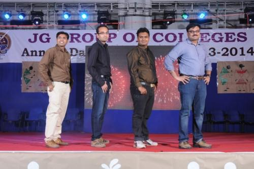 FACULTIES OF JGCC ON THE RAMP